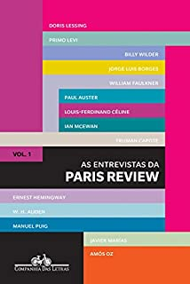Livro As entrevistas da Paris Review: Vol. 1
